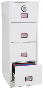 The Phoenix Excel FS2244E fireproof filing cabinet