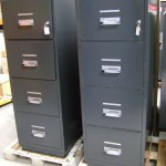 1990s Chubb Fireproof Filing Cabinet