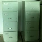 1980s Chubb Fireproof Filing Cabinets