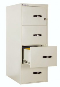 ChubbSafes Profile NT 4 Drawer 2 Hour Fireproof Filing Cabinet